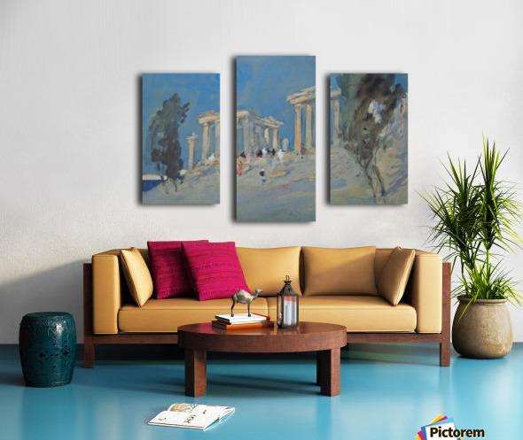 Paestum, Italy Canvas print