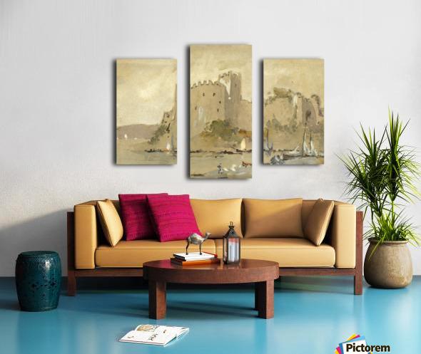 Chepstow Castle Canvas print