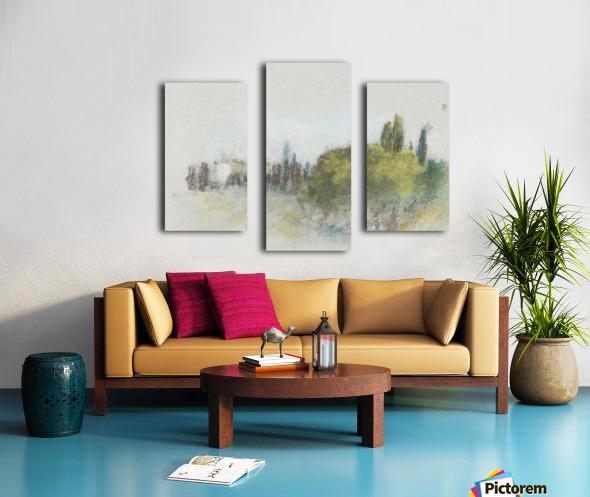 Villa Arson Canvas print