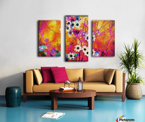 Fancy Weeds Canvas print
