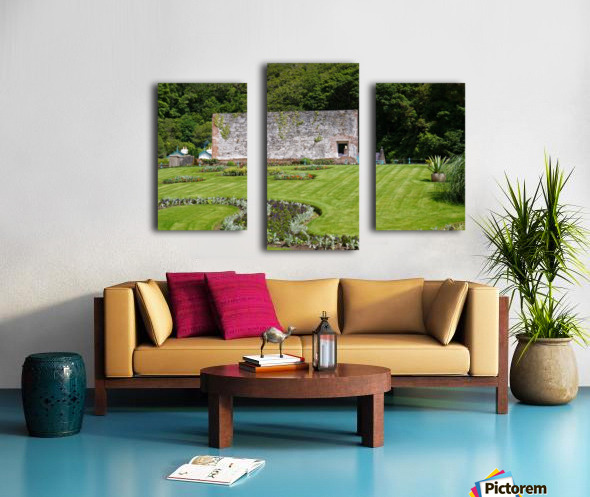 Victorian Walled Garden , Kylemore Abbey, Ireland, Canvas print
