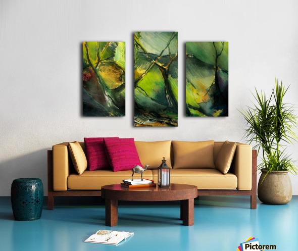 Inner landscape  Canvas print