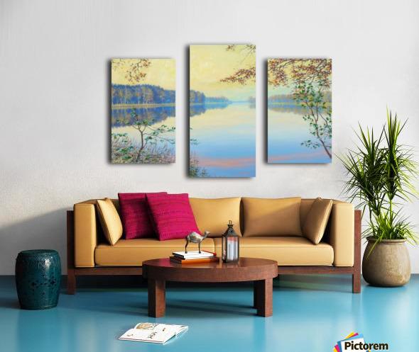 Smooth Canvas print