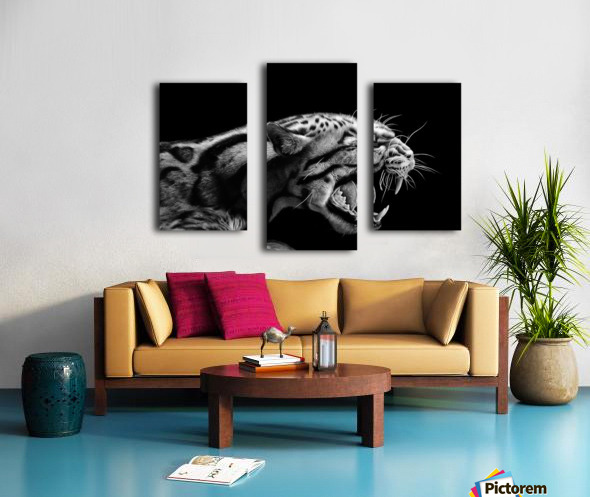 ANGER Canvas print