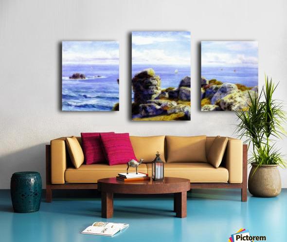 Porth Gwarra Canvas print