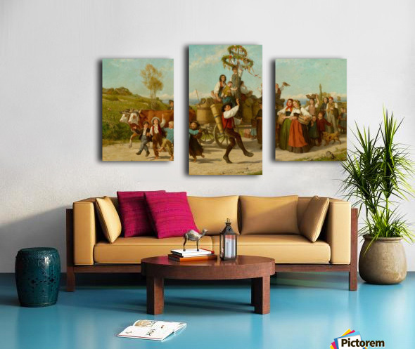 Schweizer Kunst Canvas print