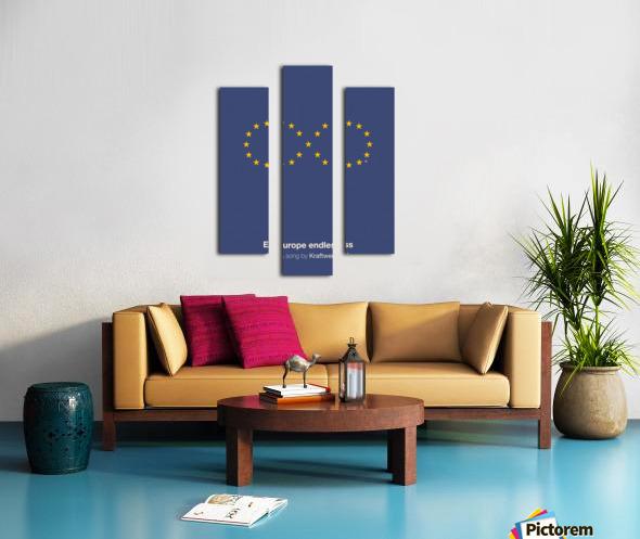 Europe endless Canvas print