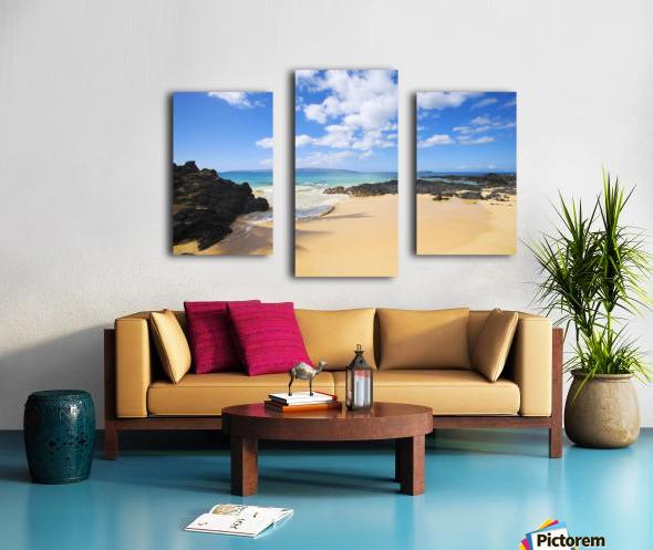 USA, Hawaii Islands, Maui, Maui Wai Or Secret Beach; Makena Canvas print