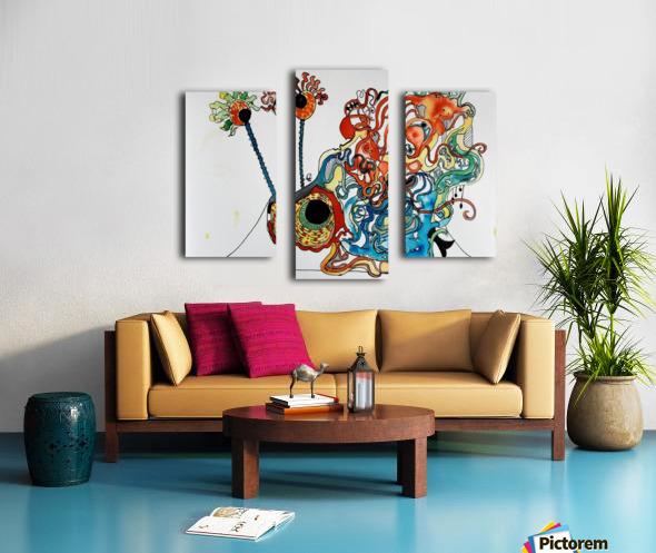 Snurch Canvas print