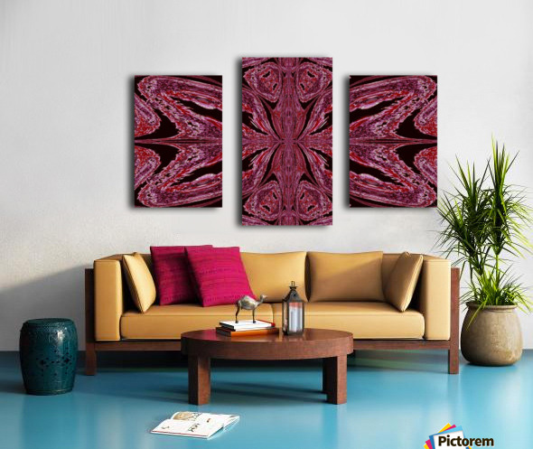 Butterfly of Red  Canvas print