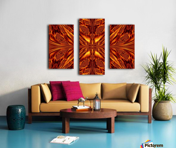 Fire Butterfly  Canvas print