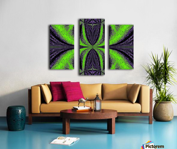 Green Butterfly 3 Canvas print