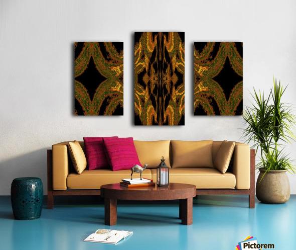Hidden Butterfly 2 Canvas print