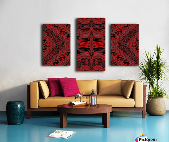 Red Velvet Butterfly Canvas print