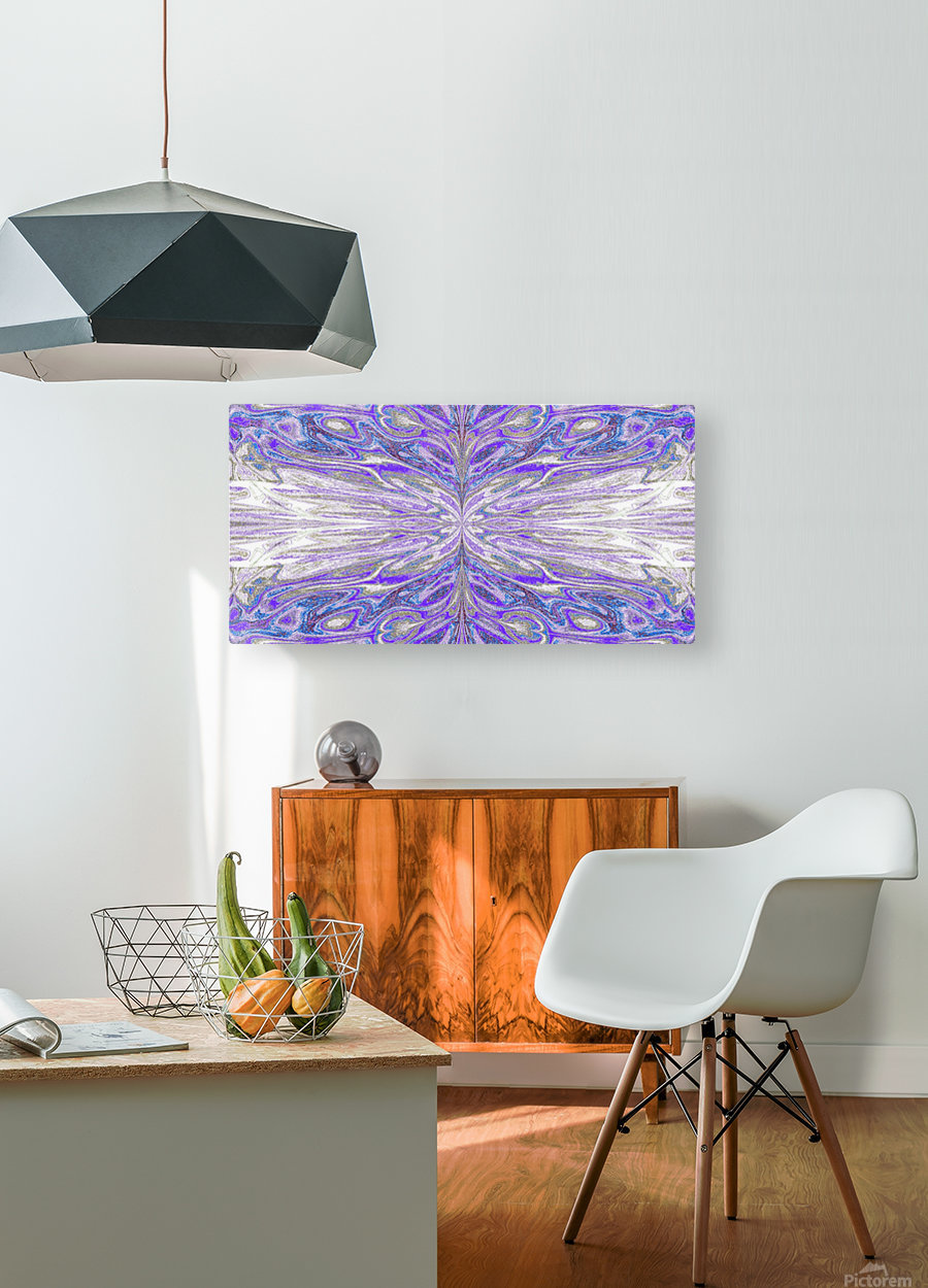 Queen of the Butterflies 56  HD Metal print with Floating Frame on Back