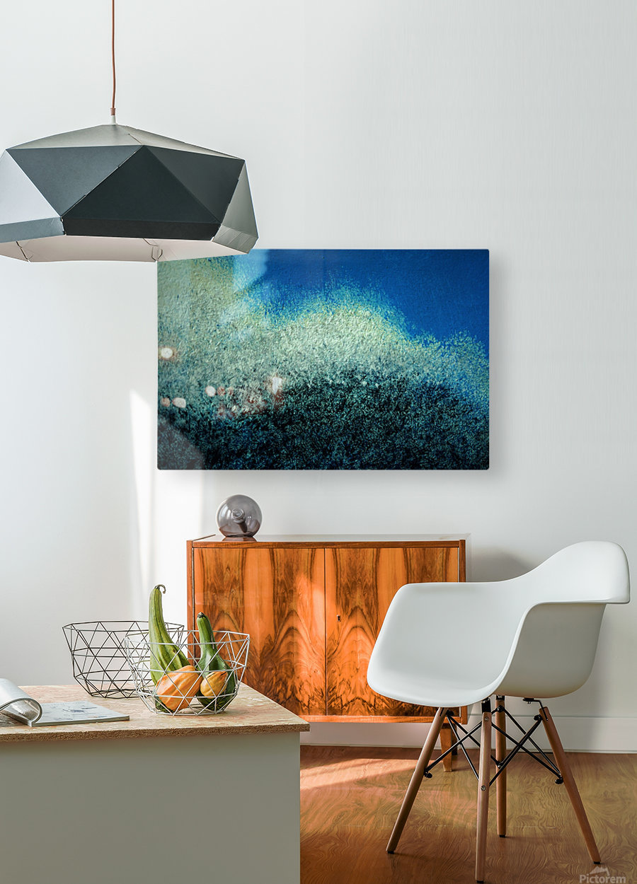 Clouds and Wind  HD Metal print with Floating Frame on Back