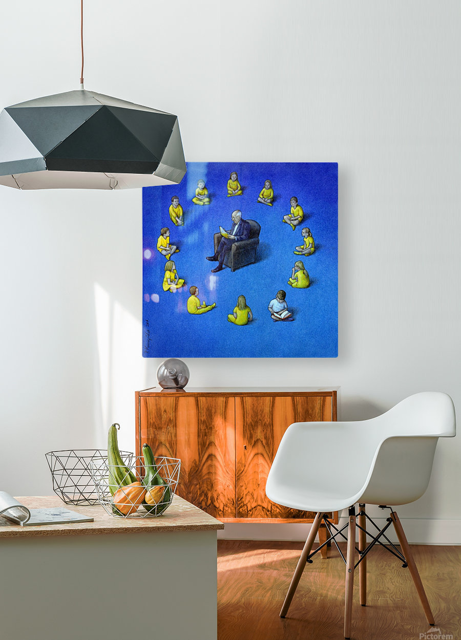 Brexit  HD Metal print with Floating Frame on Back