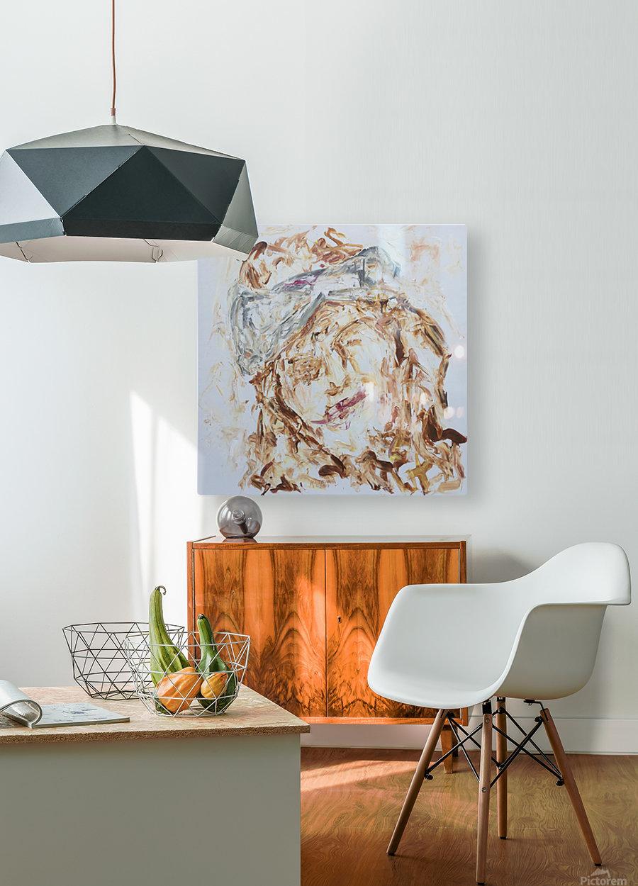Samarah  HD Metal print with Floating Frame on Back