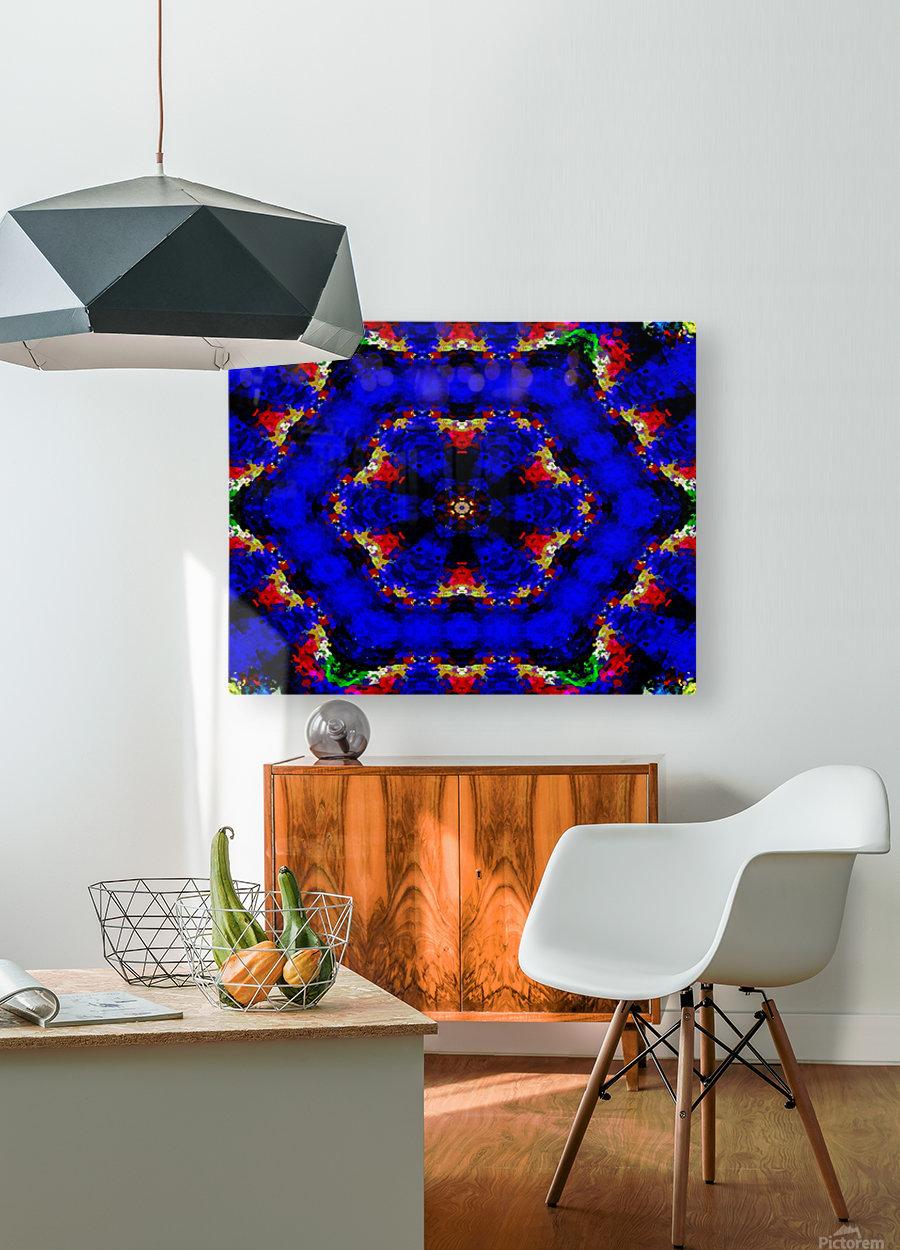 cinmangri  HD Metal print with Floating Frame on Back