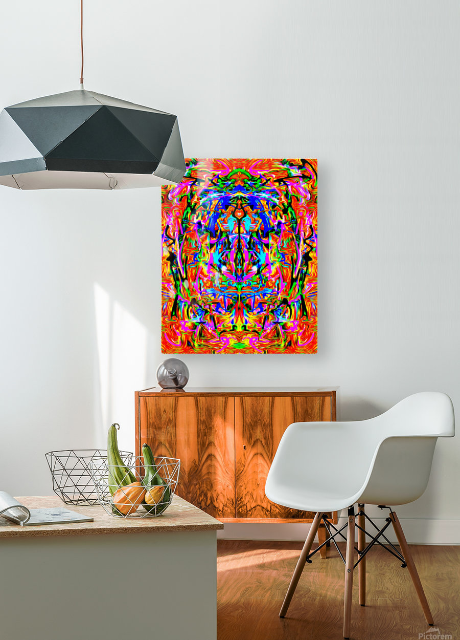 spiritgrand  HD Metal print with Floating Frame on Back