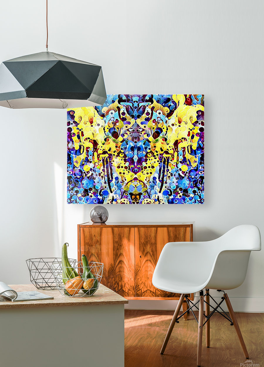 grandrey  HD Metal print with Floating Frame on Back
