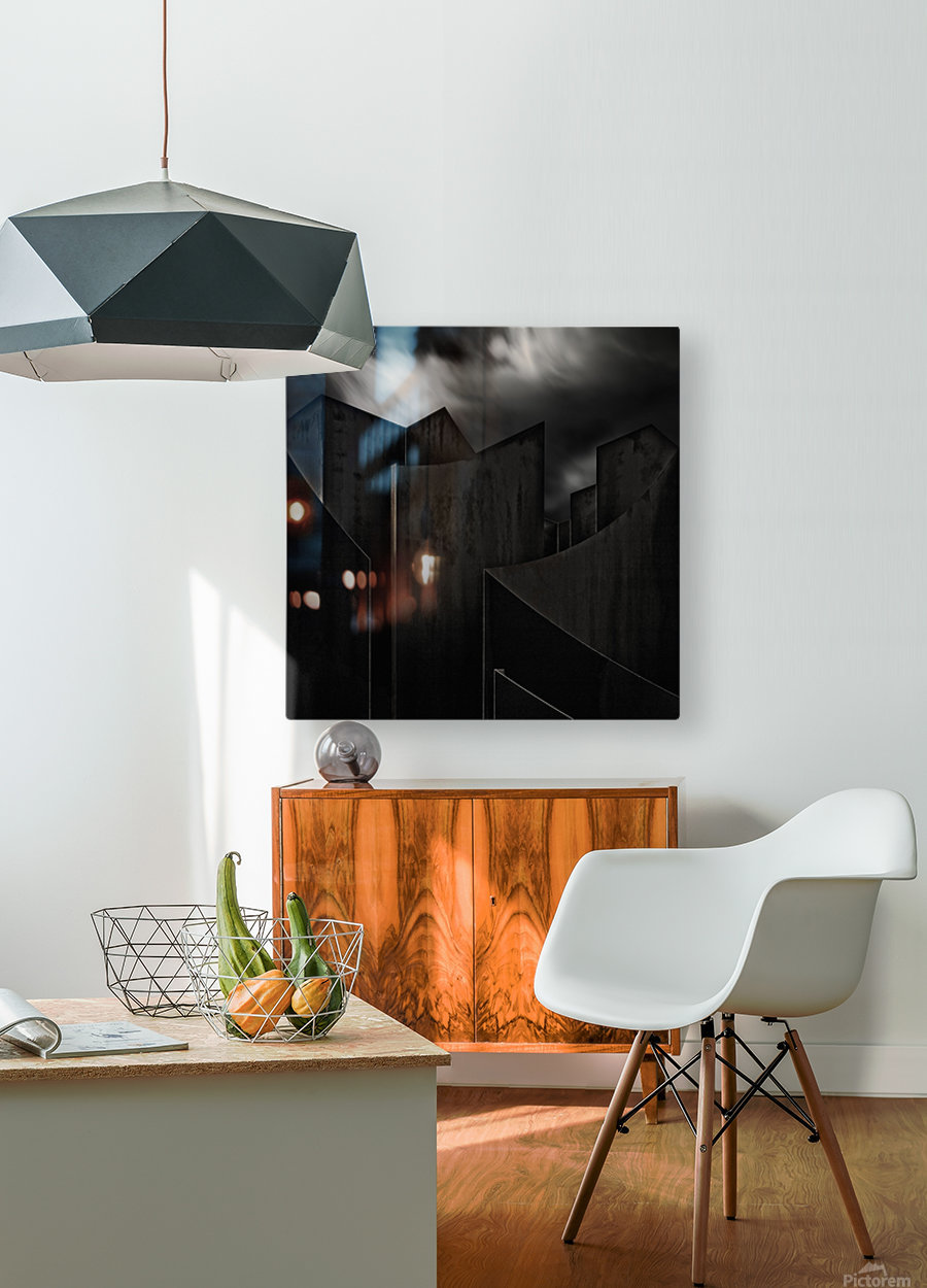 perdidi  HD Metal print with Floating Frame on Back