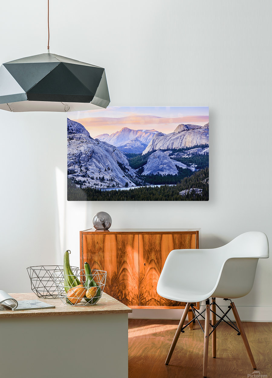 The high country in Yosemite National Park; California, United States of America  HD Metal print with Floating Frame on Back