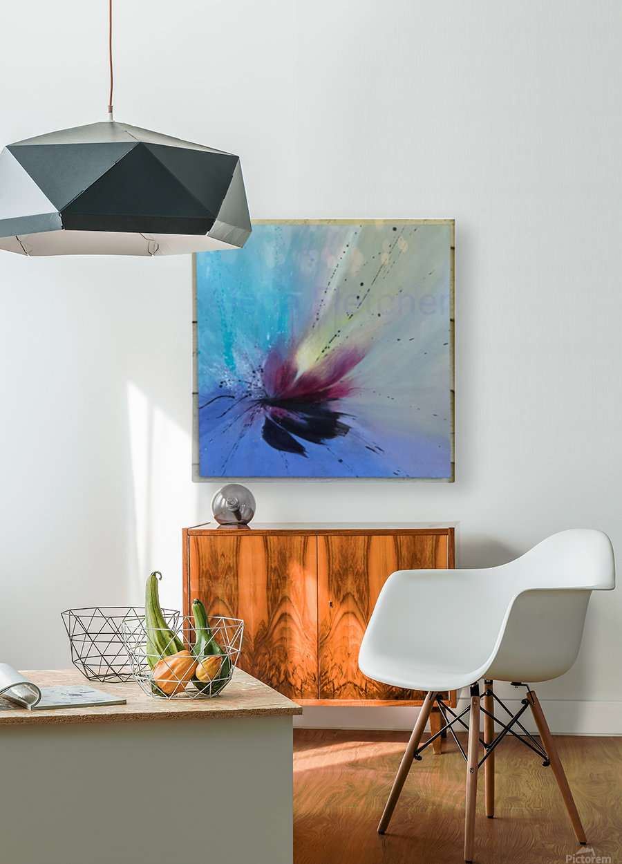 Art Of Attraction  HD Metal print with Floating Frame on Back