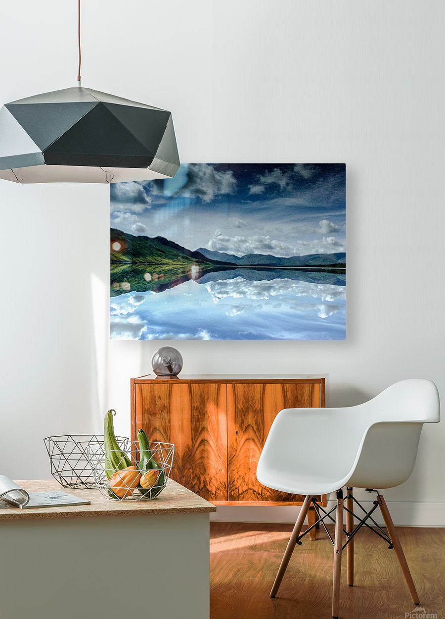 Ireland  HD Metal print with Floating Frame on Back