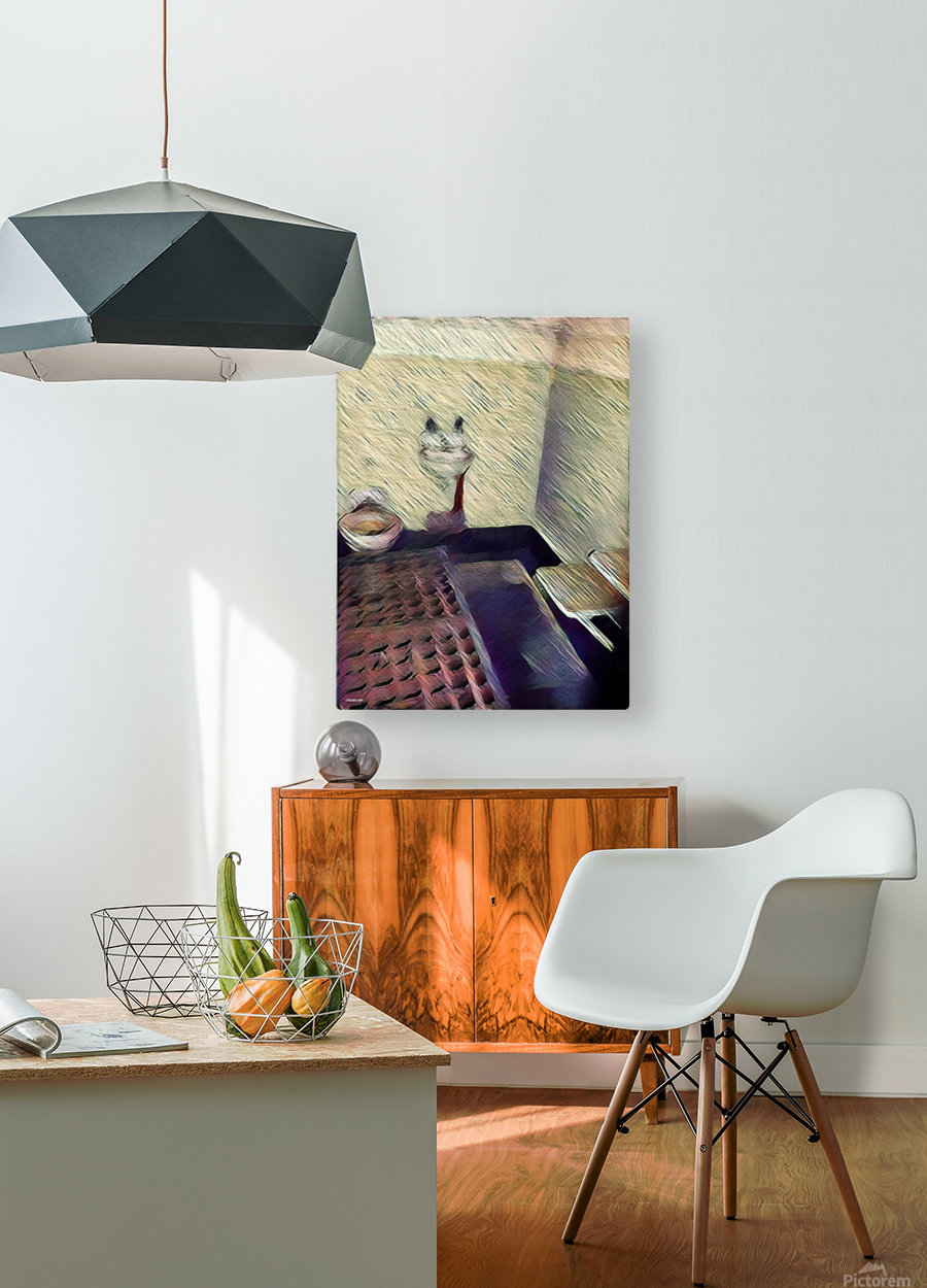 Alcatraz  HD Metal print with Floating Frame on Back