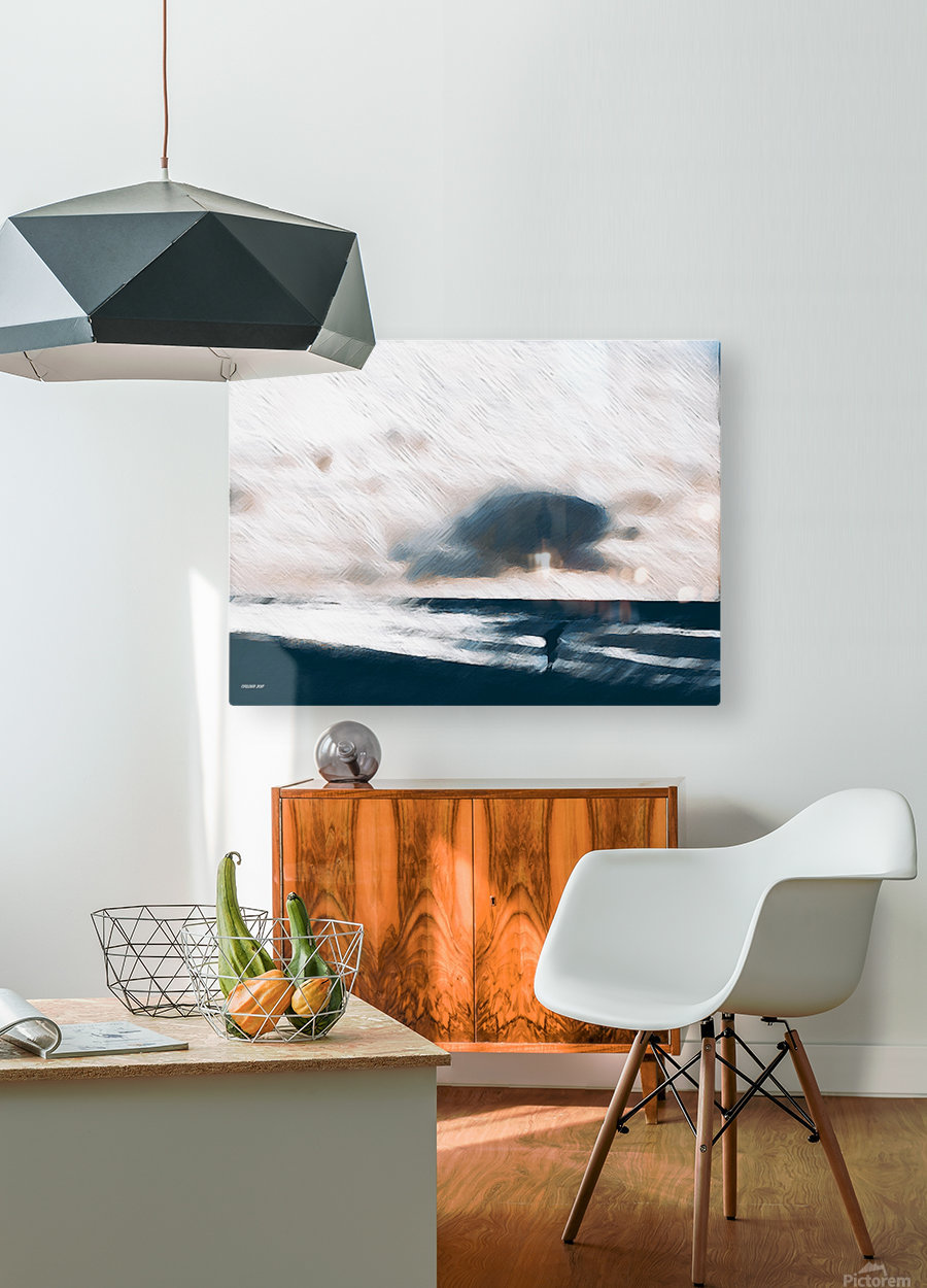 Immer wieder Holland   HD Metal print with Floating Frame on Back