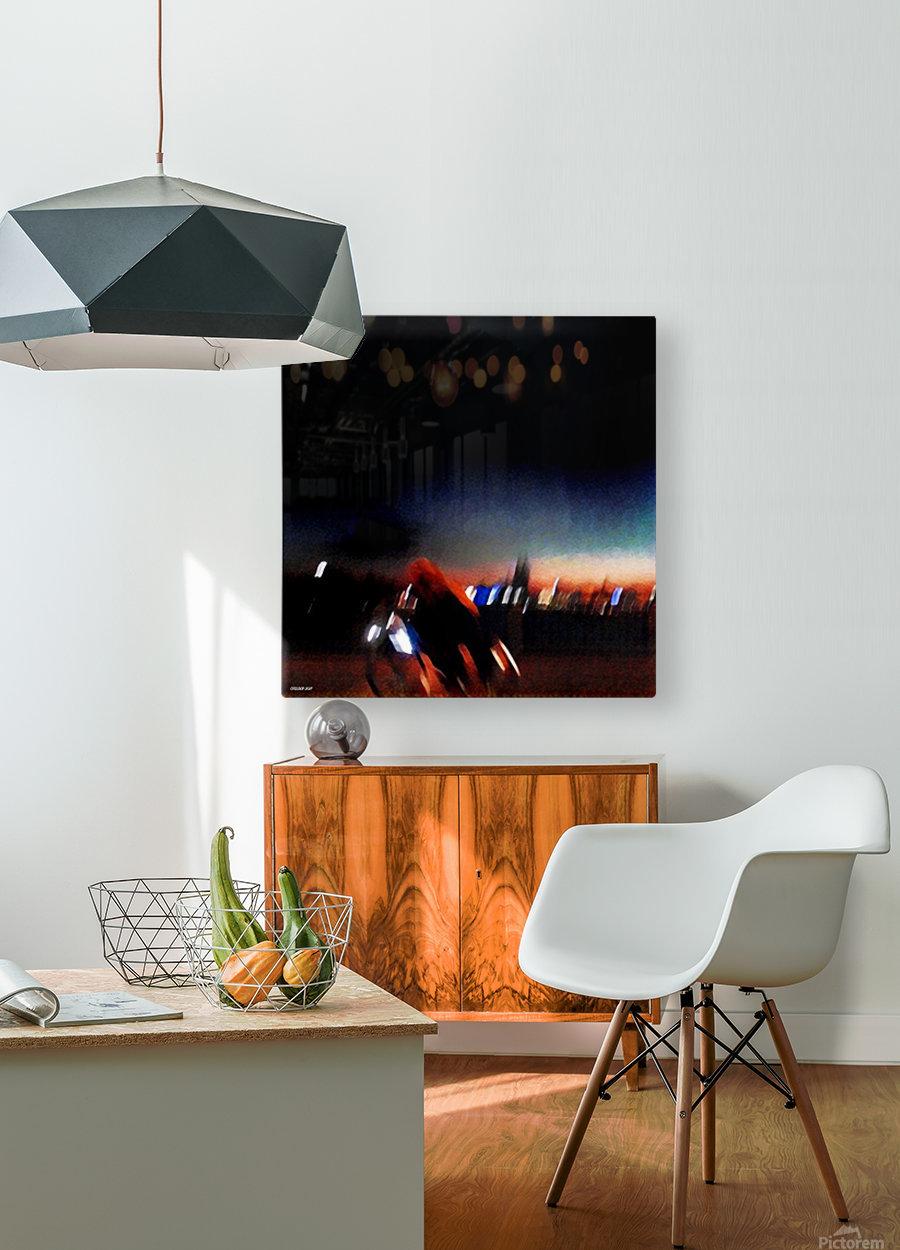 Kölnisch  HD Metal print with Floating Frame on Back