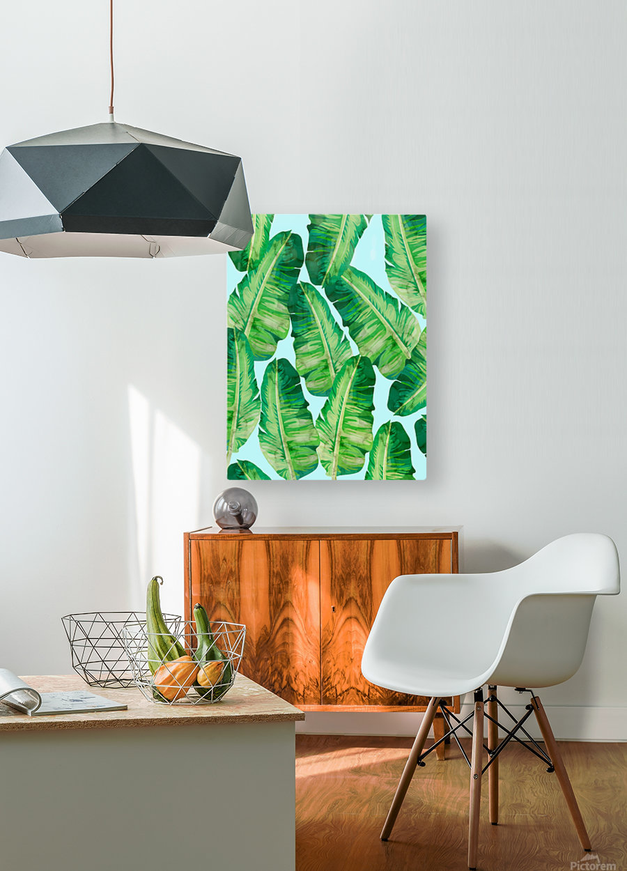 Tropical and exotic pattern II  HD Metal print with Floating Frame on Back