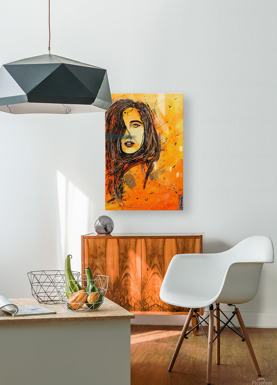 L'Envol  HD Metal print with Floating Frame on Back