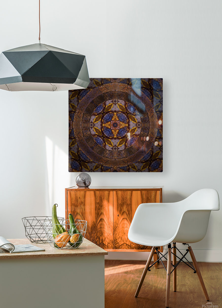 Dutch Portal  HD Metal print with Floating Frame on Back