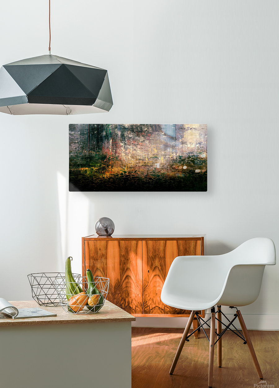 Dutch Shore  HD Metal print with Floating Frame on Back