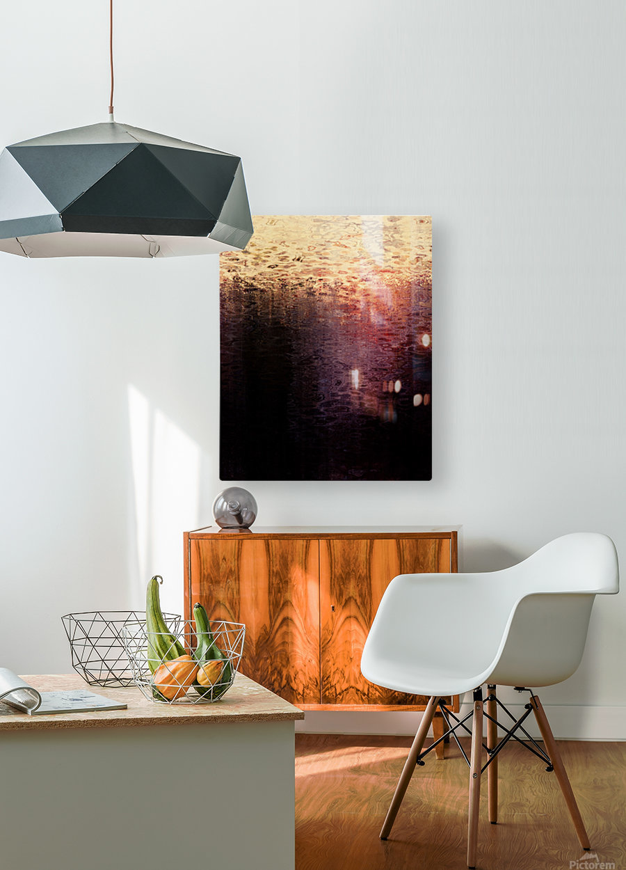 Promise  HD Metal print with Floating Frame on Back