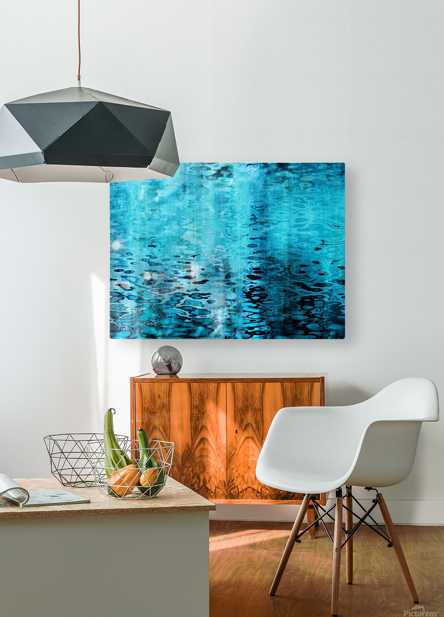 Pacifica II  HD Metal print with Floating Frame on Back