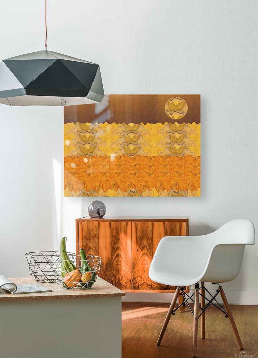 Landscape  0627  HD Metal print with Floating Frame on Back
