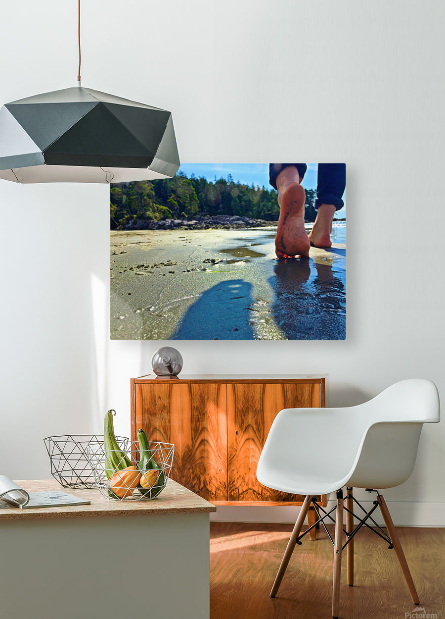 tofino  HD Metal print with Floating Frame on Back