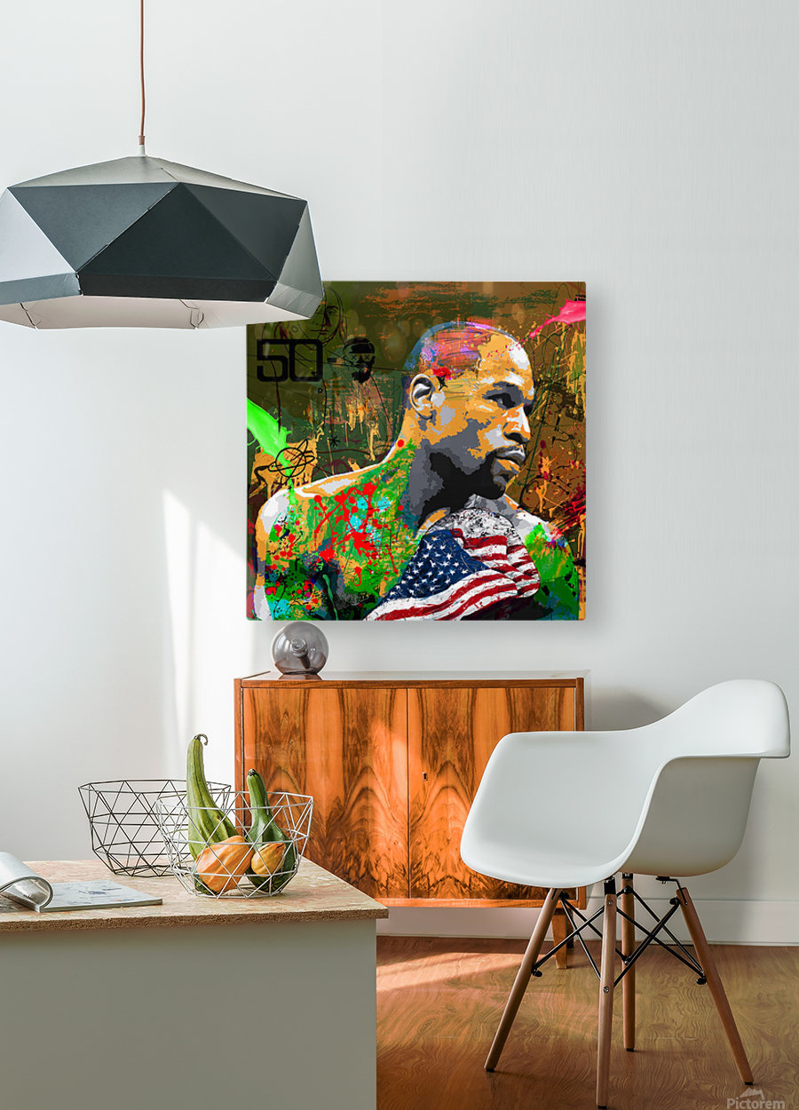 M 50 0  HD Metal print with Floating Frame on Back