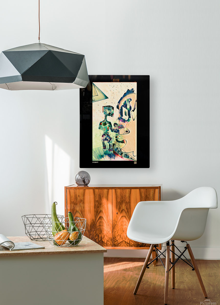 Opening Day  HD Metal print with Floating Frame on Back