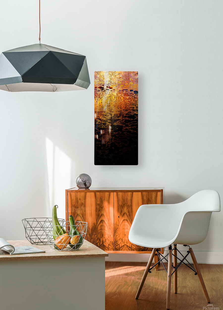 Hell Lakes II  HD Metal print with Floating Frame on Back