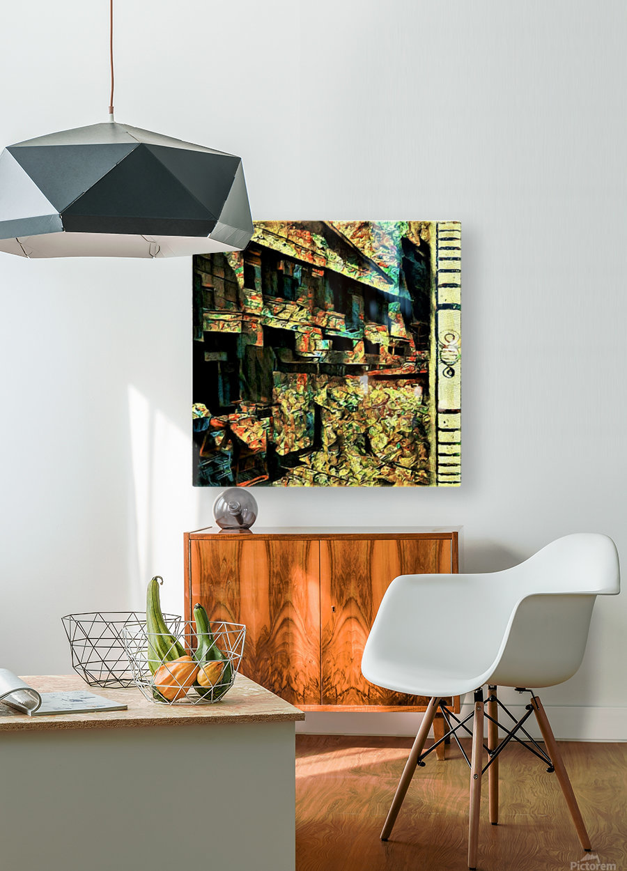 Voyeurs of Sta Cruz Lodge  HD Metal print with Floating Frame on Back