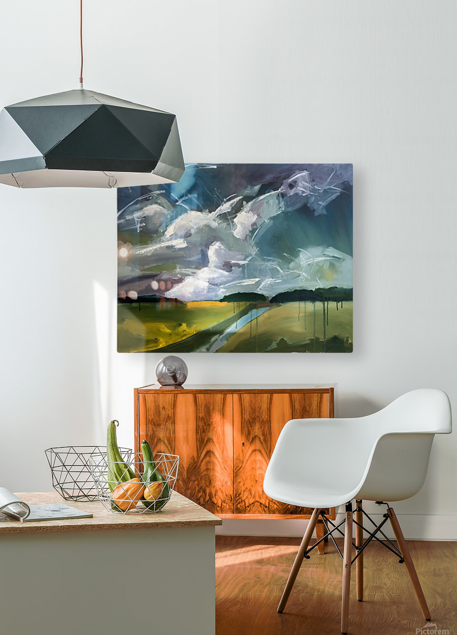 Dancing Clouds_final  HD Metal print with Floating Frame on Back