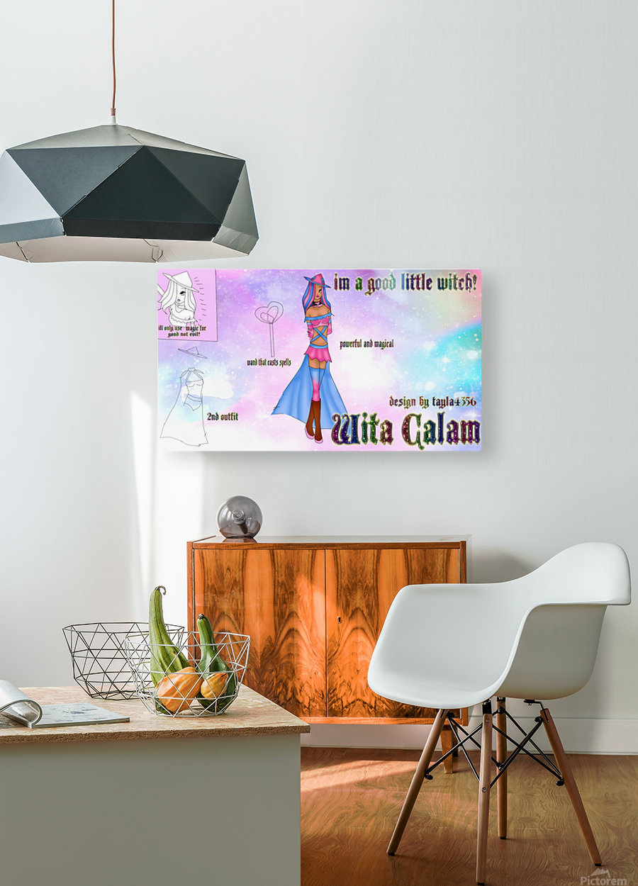 wita calam ref  HD Metal print with Floating Frame on Back