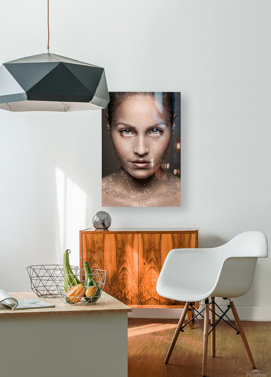 Stardust  HD Metal print with Floating Frame on Back