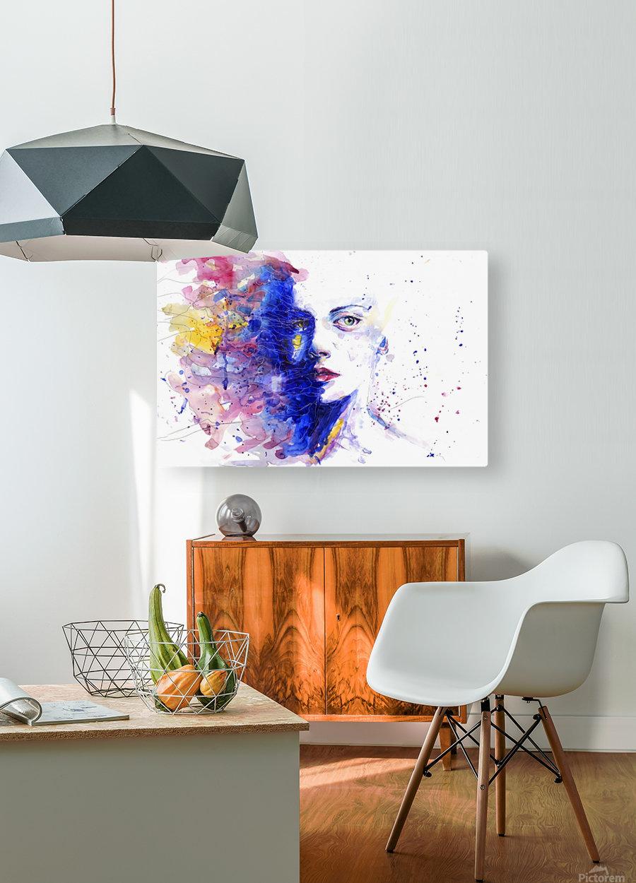 manpro  HD Metal print with Floating Frame on Back