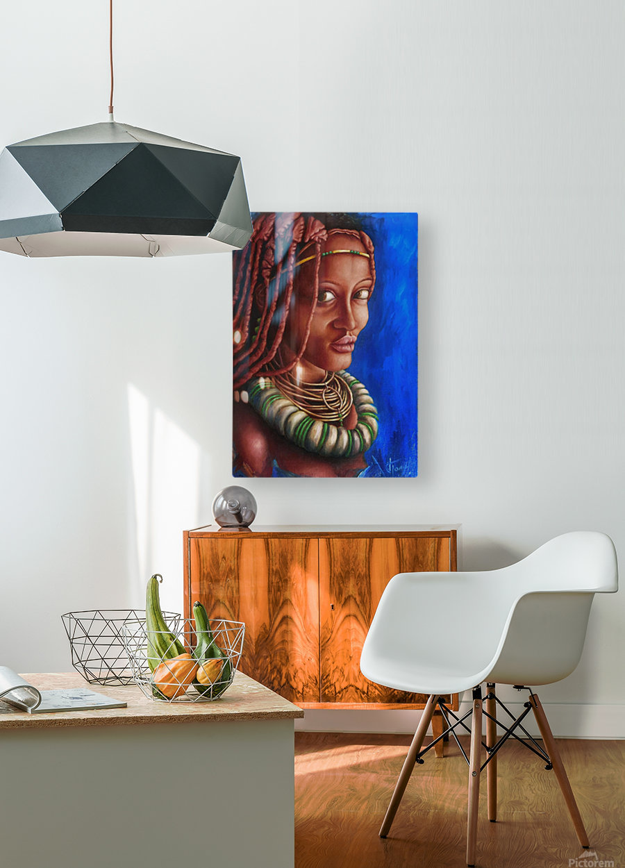 coquette  HD Metal print with Floating Frame on Back