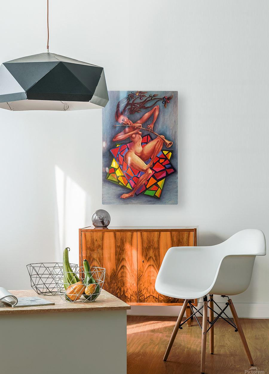 Emotions  HD Metal print with Floating Frame on Back